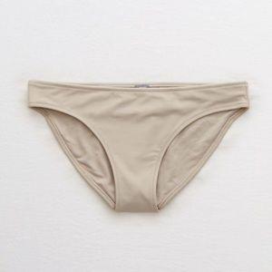 Aerie Cheeky Tan Bikini Bottoms